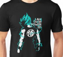 Vegeta Overpowered Super Saiyan Blue Unisex T-Shirt