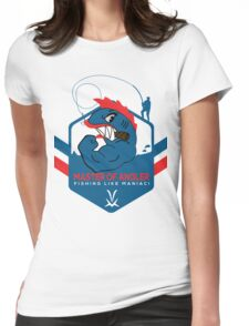 master of angler fishing Womens Fitted T-Shirt