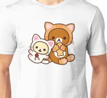 Neko Rilakkuma & Korilakkuma Unisex T-Shirt
