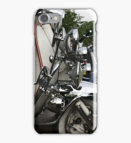 MODS IN REGENTS PARK  iPhone Case/Skin