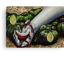 The Murder Of Snow White Canvas Print