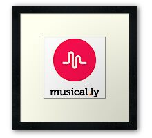 musically 3 Framed Print
