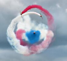 The Red Arrows - Head On  by Colin  Williams Photography