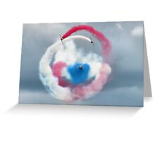The Red Arrows - Head On  Greeting Card