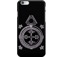 Magical Circle of King Solomon INVERTED iPhone Case/Skin