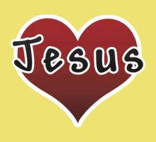 Love Jesus Christ Son of God Lord Kids Clothes