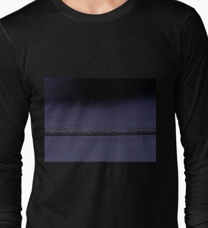 Purple Inlet Long Sleeve T-Shirt