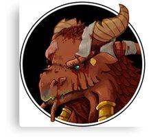 Dragonborn Cleric (Injured) Canvas Print