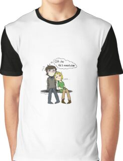 Oh no, he's adorable... Graphic T-Shirt