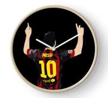 Messi after GOAL!! Clock