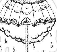 La Dispute Traditional Tattoo Umbrella Sticker