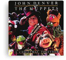 John Denver & The Muppets Christmas Together Canvas Print