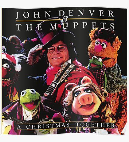 John Denver & The Muppets Christmas Together Poster