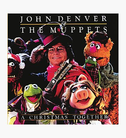 John Denver & The Muppets Christmas Together Photographic Print