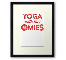 Yoga With The Omies Framed Print