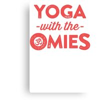 Yoga With The Omies Canvas Print