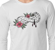 American Traditional Ouroboros Long Sleeve T-Shirt