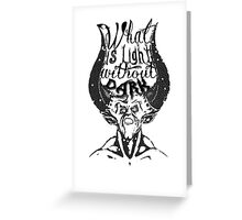 What is light Greeting Card