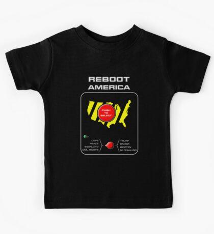 Reboot America Kids Tee