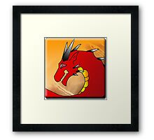 Annoth the Warrior Dragon Framed Print