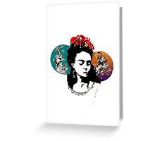 Frida la Vida  Greeting Card