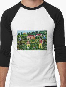 Traditionally Swiss  Men's Baseball ¾ T-Shirt