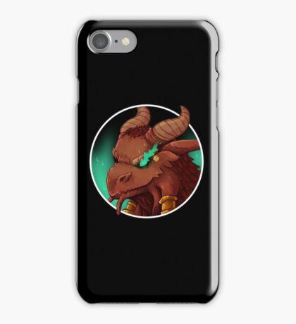 Dragonborn Cleric (Buffed) iPhone Case/Skin