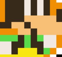Pixel Goofy Sticker Sticker