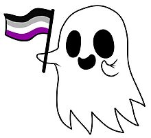 Asexual Pride Ghost by RessQ
