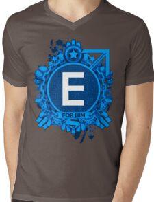 FOR HIM - E Mens V-Neck T-Shirt