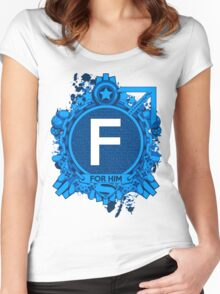FOR HIM - F Women's Fitted Scoop T-Shirt