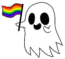 Gay Pride Ghost by RessQ