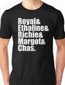 The Royal Tenenbaums Cast Unisex T-Shirt