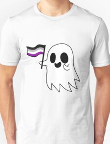 Asexual Pride Ghost T-Shirt