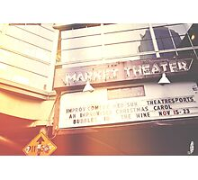 Market Theater Photographic Print