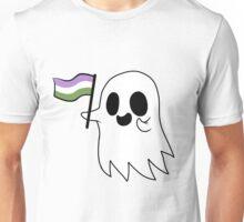Agender/Genderqueer Pride Ghost Unisex T-Shirt