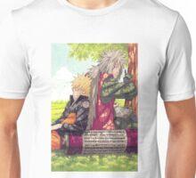Naruto and Jiraya Unisex T-Shirt