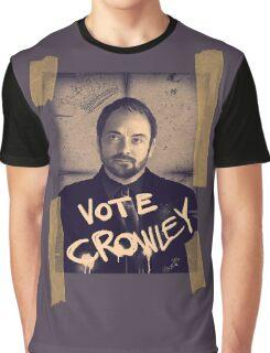 VOTE CROWLEY Graphic T-Shirt