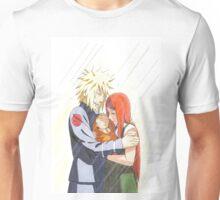 Minato, Kushina and Naruto Unisex T-Shirt