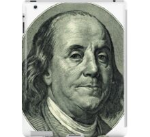 Ben Franklin Hundred Dollar Bill iPad Case/Skin
