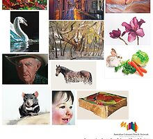 2015 Australian Coloured Pencils Network Calendar by Belinda Lindhardt