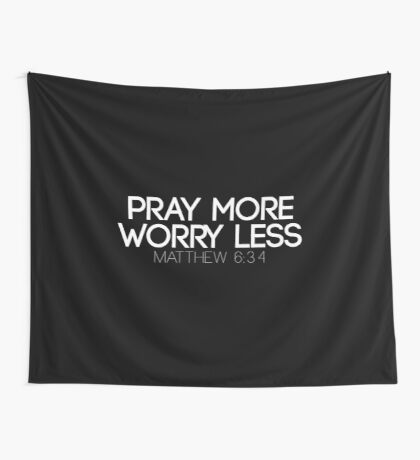 Christian Quote Wall Tapestry