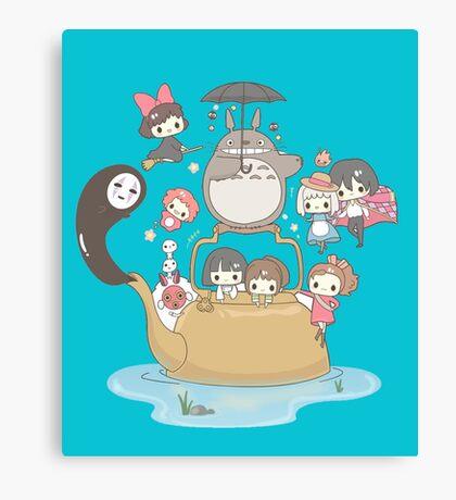 Ghibli Collection Canvas Print