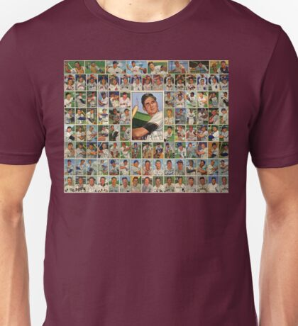 Baseball Card 52 Dreams Unisex T-Shirt