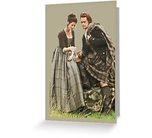 Outlander - Jamie x Claire Greeting Card