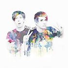 Phil Lester and Dan Howell by Hunter-Nerd