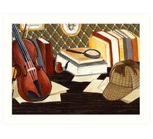 Holmes Art Print