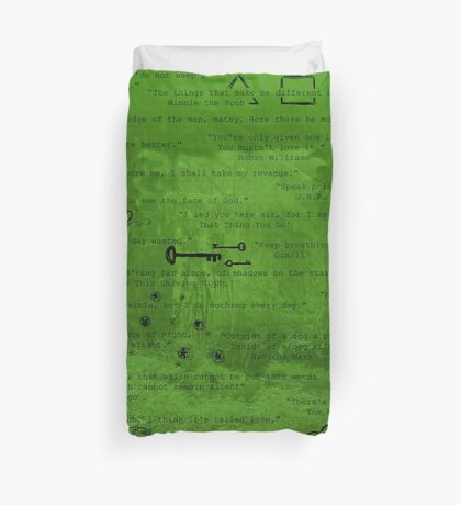 Quote Unquote Duvet Cover
