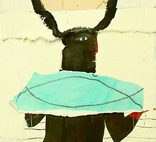 Hesat Cow Goddess Revolving by donna malone