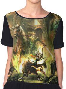The Legende of Zelda Chiffon Top